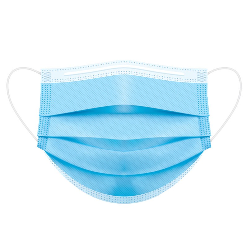 Μάσκα προσώπου χειρουργική (50 τμχ)